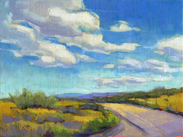 Painting - Road Trip - Study by Konnie Kim