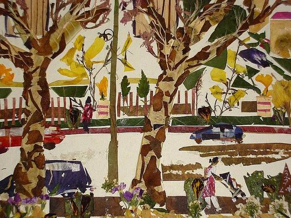 Eco Friendly Mixed Media - Road View   by Basant Soni