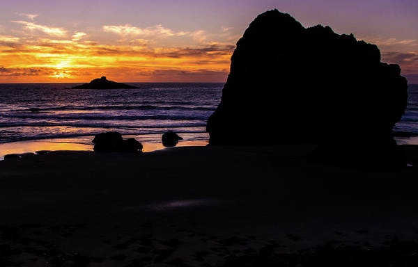 Photograph - Roads End Sunset by Jedediah Hohf