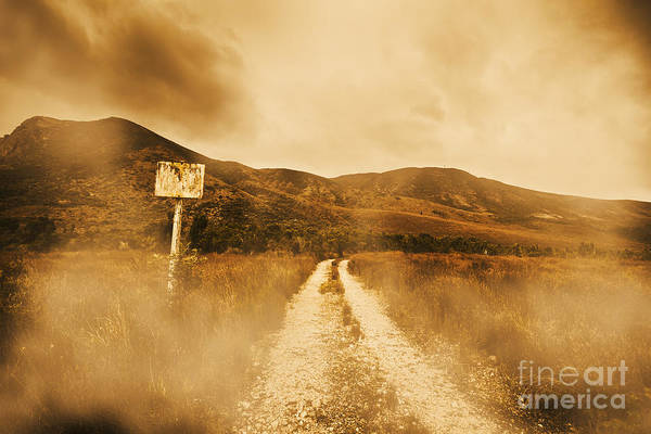 Gravel Road Photograph - Roads Of No Return by Jorgo Photography - Wall Art Gallery