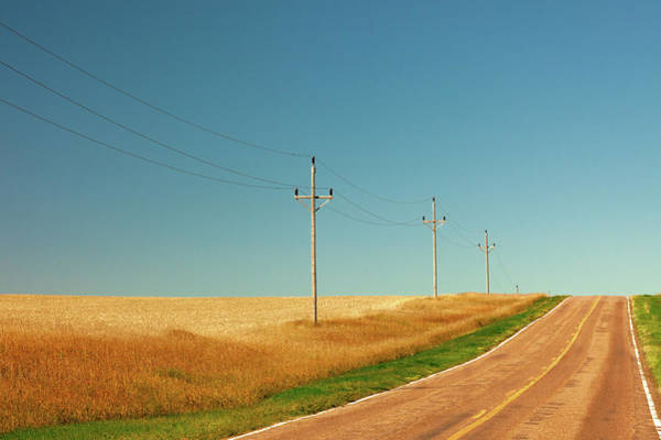 Photograph - Roadside Poles by Todd Klassy
