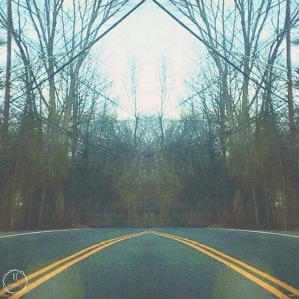 Kora Wall Art - Photograph - Roadside Refelection  by Kora Cheyenne Milligan