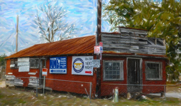 Photograph - Roadside Shack On Clements Ferry by Dale Powell
