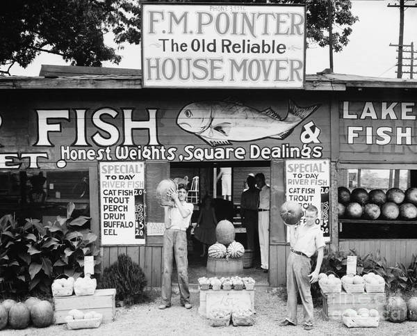 Wall Art - Photograph - Roadside Stand Near Birmingham, Alabama by Walker Evans