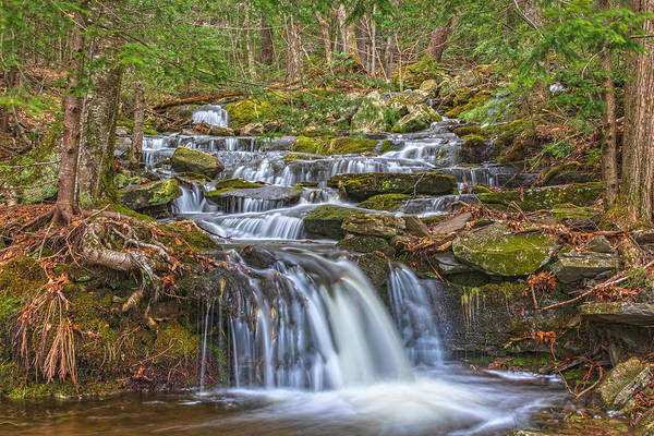 Haines Falls Photograph - Roadside Water Wonder by Angelo Marcialis
