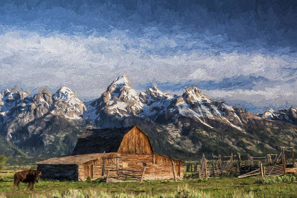 Beautiful Scenery Digital Art - Roaming The Range II by Jon Glaser