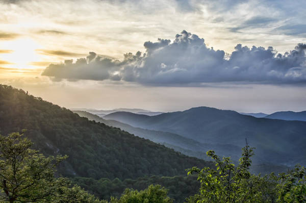 Photograph - Roan Mountain Vista by Heather Applegate