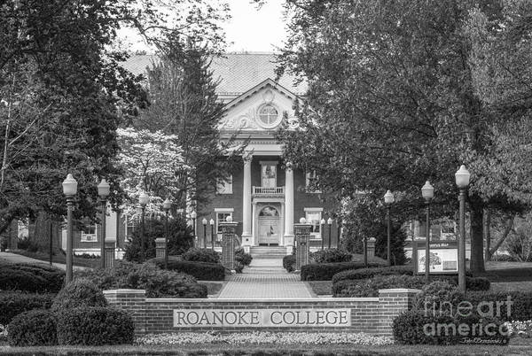 Photograph - Administration Building Roanoke College by University Icons