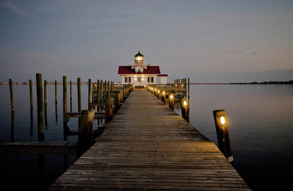 Roanoke Marshes Lighthouse Art Print