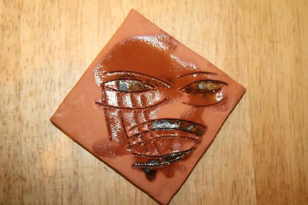 Ceramic Art - Roar - Tile by Gloria Ssali