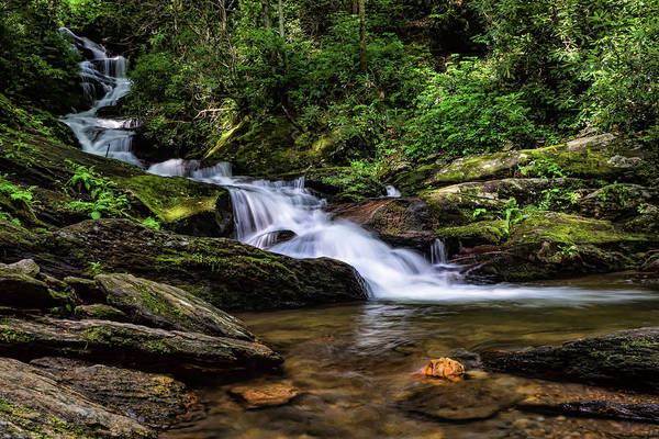 Photograph - Roaring Fork Waterfall by Louise Lindsay