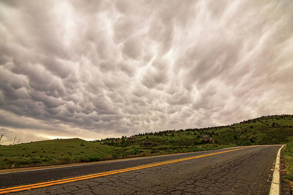 Photograph - Roaring Storming Highway Skies by James BO Insogna