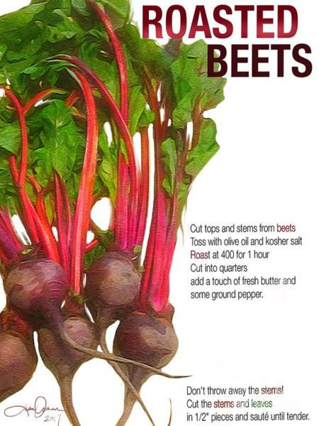 - Roasted Beets by Lisa Owen-Lynch