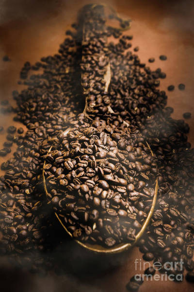 Breakfast Wall Art - Photograph - Roasting Coffee Bean Brew by Jorgo Photography - Wall Art Gallery