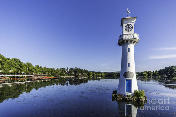 Swan Boats Photograph - Roath Park Lake 2 by Steve Purnell