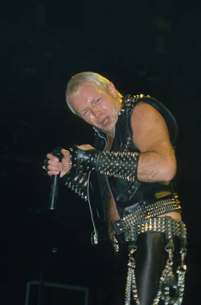 Photograph - Rob Halford Of Judas Priest by Rich Fuscia