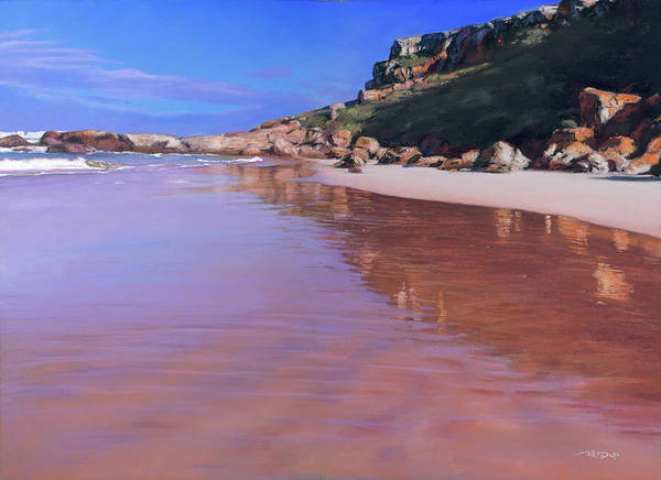 Pastel - Robberg Complements by Christopher Reid