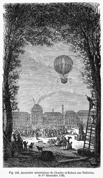 Photograph - Robert & Charles: Balloon by Granger