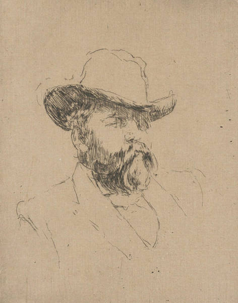 Relief - Robert Barr by James Abbott McNeill Whistler