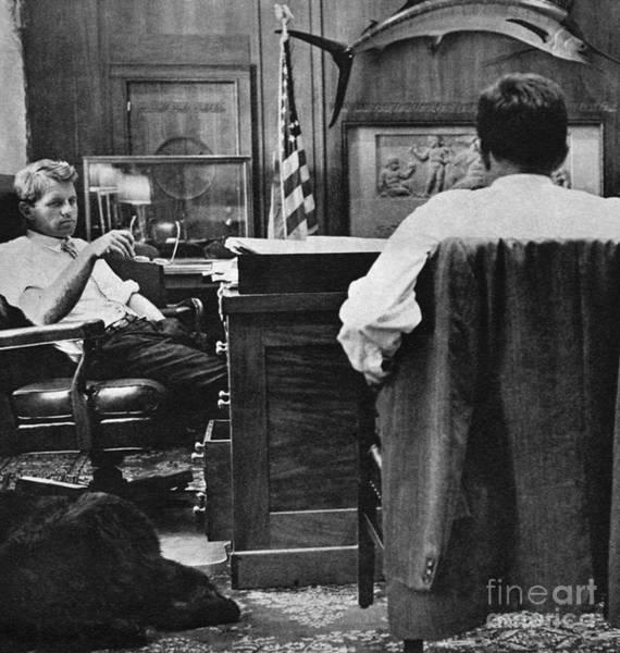 Photograph - Robert F. Kennedy, 1963 by Granger