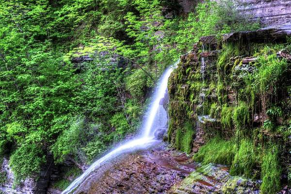 Photograph - Robert H. Treman State Park Bounce Ithaca Ny by Toby McGuire