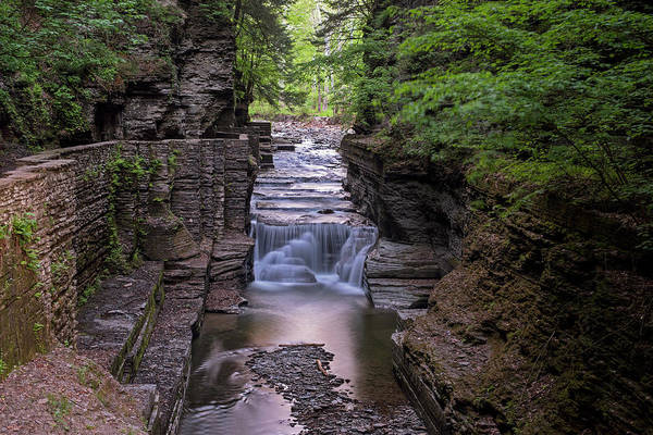 Photograph - Robert H. Treman State Park Canal 2 Ithaca Ny by Toby McGuire