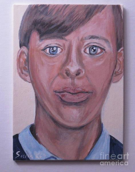 Painting - Robert In A High School. Image 5 by Oksana Semenchenko
