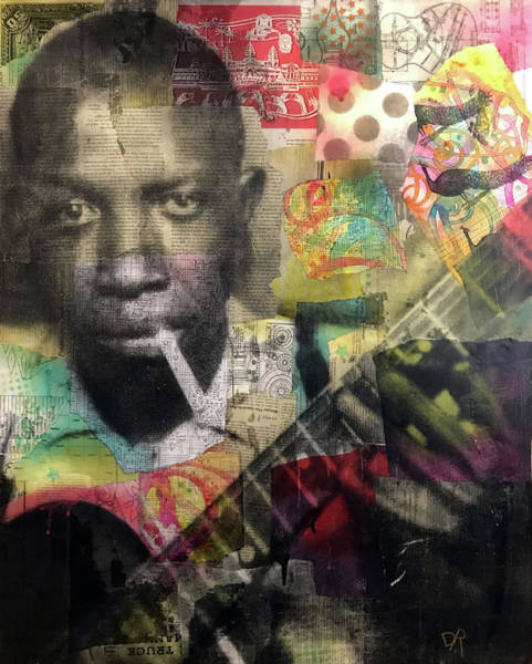 Painting - Robert Johnson by Dean Russo Art