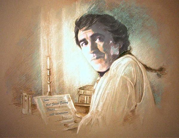Painting - Robert Lindsay In Hornblower by Miki De Goodaboom