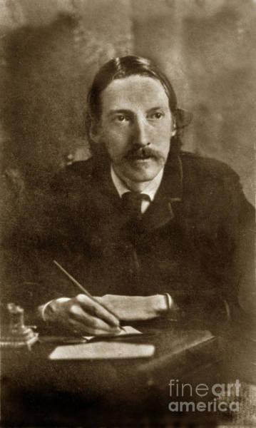 Photograph - Robert Louis Stevenson Born November 13, 1850 Edinburgh, Scotia Circa 1880 by California Views Archives Mr Pat Hathaway Archives