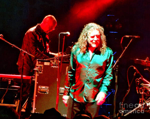 Photograph - Robert Plant And The Sensational Space Shifters.5 by Tanya Filichkin