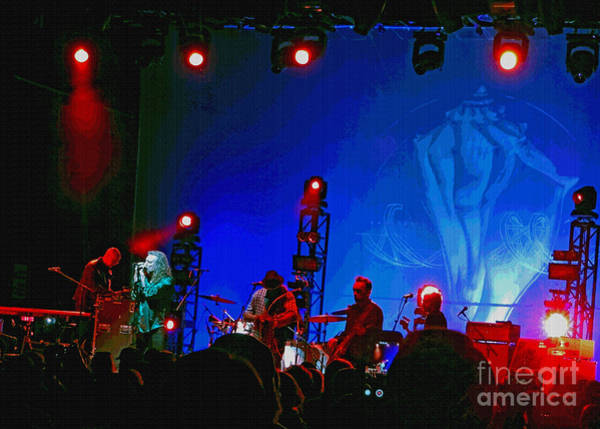 Photograph - Robert Plant And The Sensational Space Shifters.8 by Tanya Filichkin