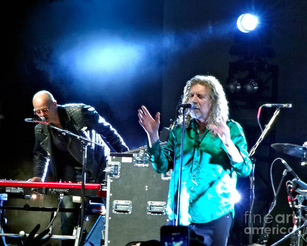 Photograph - Robert Plant And The Sensational Space Shifters.2 by Tanya Filichkin
