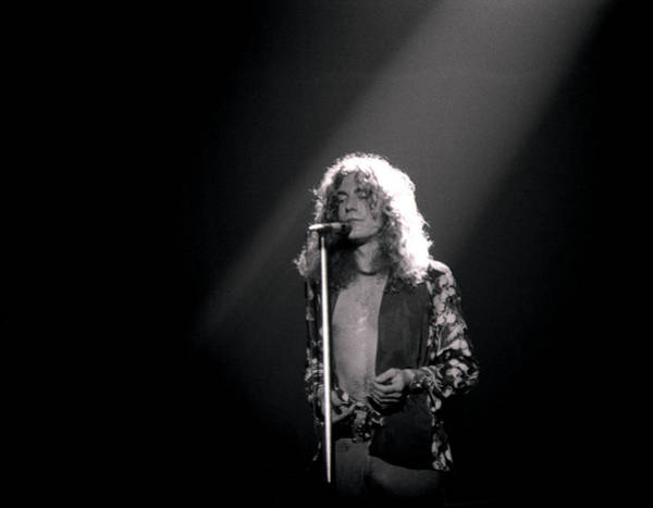 Led Zeppelin Photograph - Robert Plant Of Led Zeppelin by Mike Norton