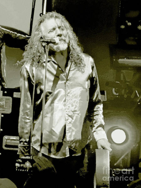 Photograph - Robert Plant And The Sensational Space Shifters.9 by Tanya Filichkin