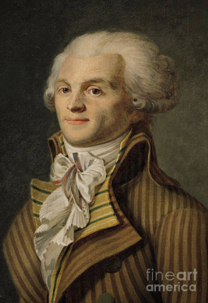 Wall Art - Painting - Robespierre by French School