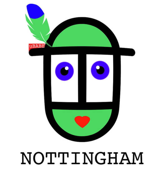 Digital Art - Robin Hood Nottingham by Charles Stuart