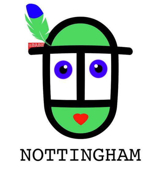 Wall Art - Digital Art - Robin Hood Nottingham by Charles Stuart