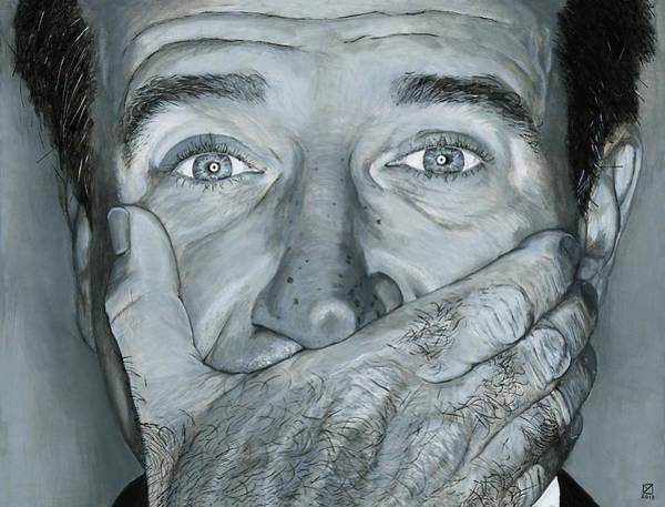 Photograph - Robin Williams by Matthew Mezo