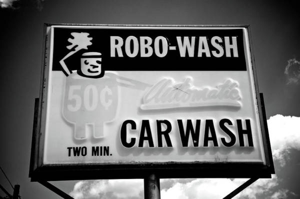 Car Wash Photograph - Robo-wash by Brandon Addis