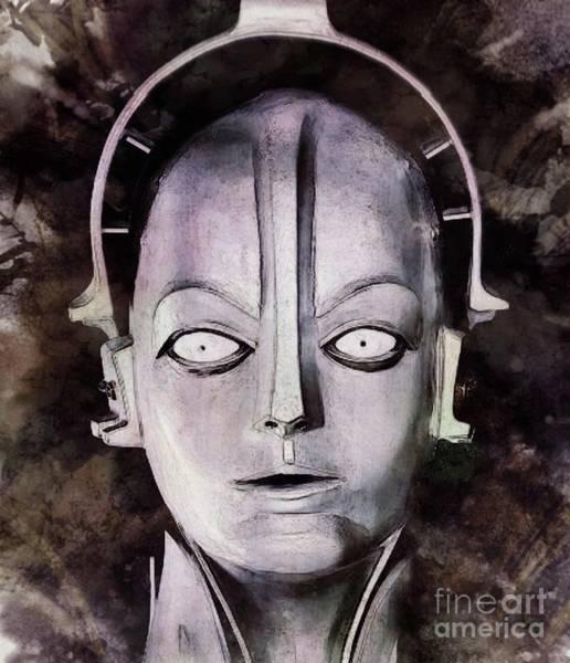 Metropolis Digital Art - Robot From Metropolis by John Springfield