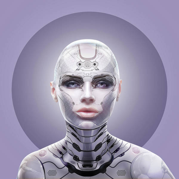 Wall Art - Digital Art - Robot  by Mark Ashkenazi