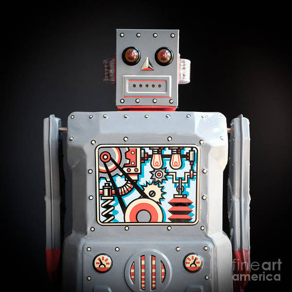 Wall Art - Photograph - Robot R-1 Square by Edward Fielding