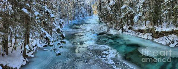 Photograph - Robson River Icy Waters Panorama by Adam Jewell