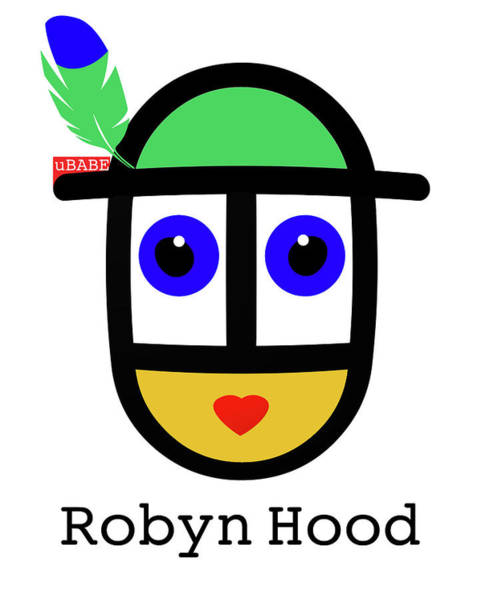 Digital Art - Robyn Hood by Charles Stuart