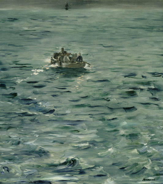 Painting - Rochefort's Escape by Edouard Manet