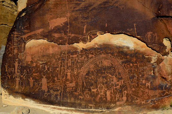 Photograph - Rochester Creek Petroglyph Panel 1 by Tranquil Light  Photography