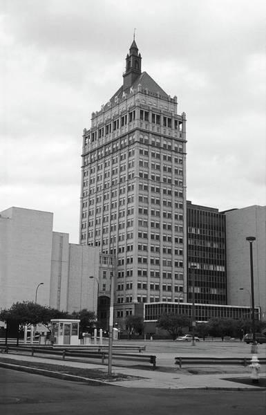 Rochester, Ny - Kodak Building 2005 Bw Art Print