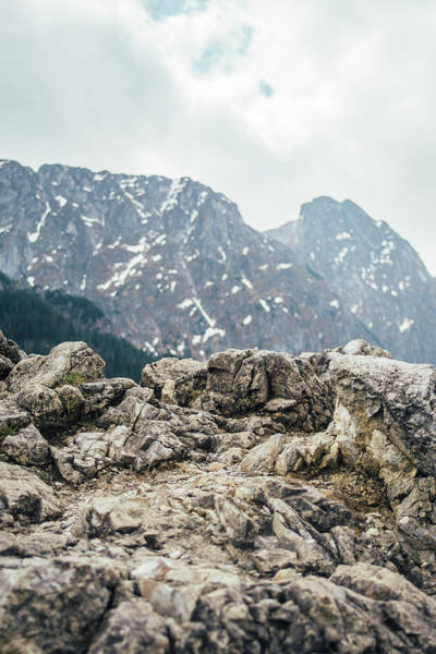 High Tatras Wall Art - Photograph - Rock And Mountains by Pati Photography