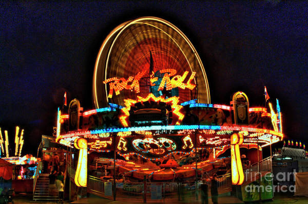 Rockdale County Photograph - Rock And Roll At The County Fair by Corky Willis Atlanta Photography